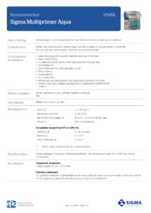 productinfo Sigma Multiprimer Aqua