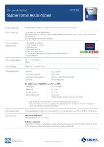 productinfo Sigma Torno Aqua Primer