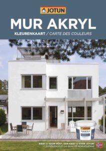 Brochure Jotun Mur Akryl