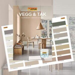 Kleurenkaart Vegg & Tak