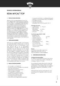productinfo KEIM Mycal-Top