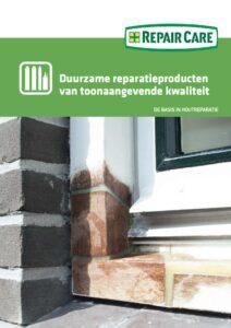 Brochure Reparatieproducten Repair Care