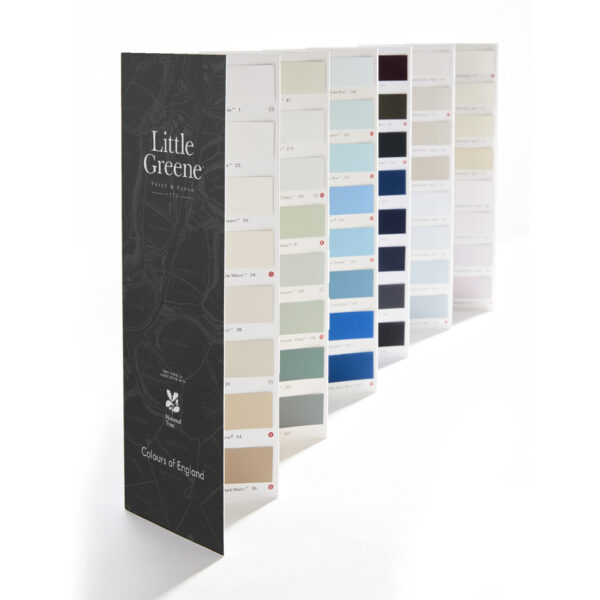 Little Greene Colours of England kleurenkaart