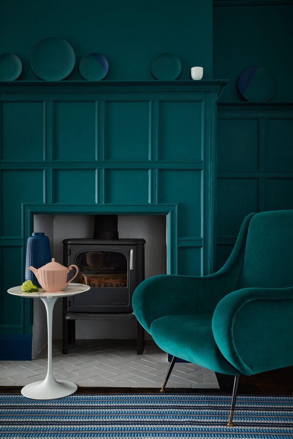 Little Greene Mid Azure Green 96
