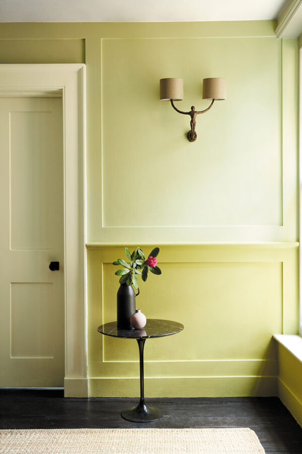 Little Greene Wormwood 300 Edith's Eye 301 Pique 299