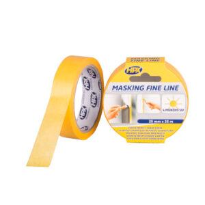 HPX Masking Tape Fine Line Oranje 25mm x 25 m