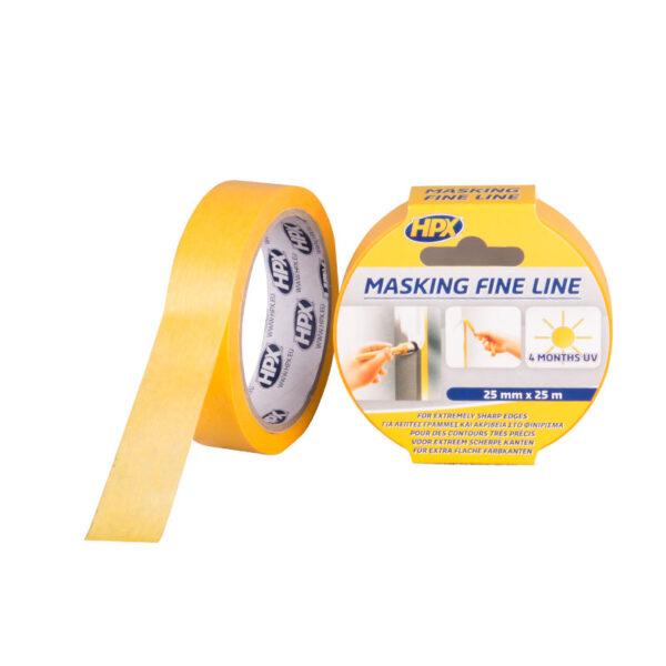 HPX Masking Tape Oranje 25 m FP2525