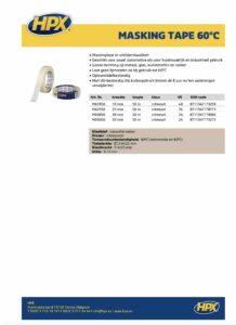 productinfo HPX masking tape creme wit