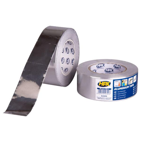 HPX Aluminium Tape 50 mm x 50 m AL5050