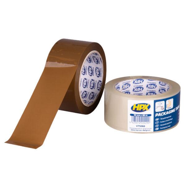 HPX Verpakkingstape Bruin en Transparant