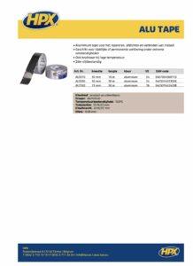 productinfo HPX Aluminium Tape