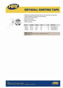 productinfo HPX Wapeningsgaas voor gipsplaten