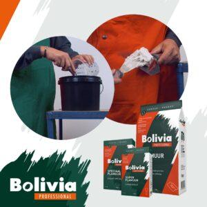 Bolivia plamuren poeders