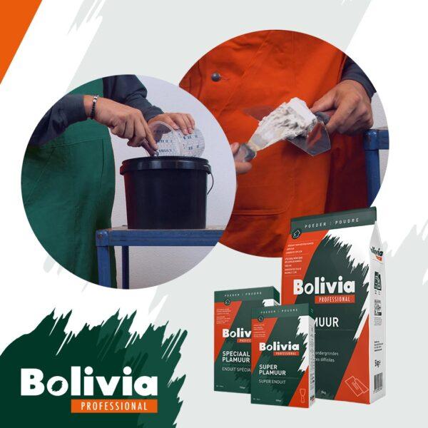 Bolivia plamuren overzicht