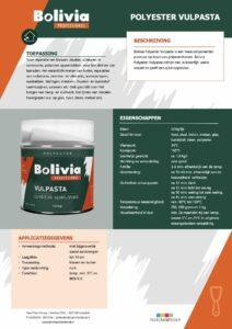 productinfo Bolivia Polyester Vulpasta